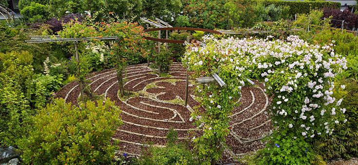 Varnau Contemplative Garden Chartres Labyrinth
